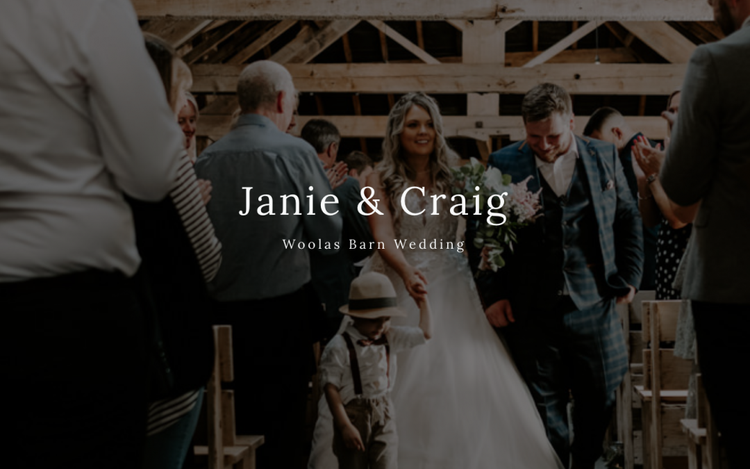 JANIE + CRAIG, WOOLAS BARN YORKSHIRE WEDDING.