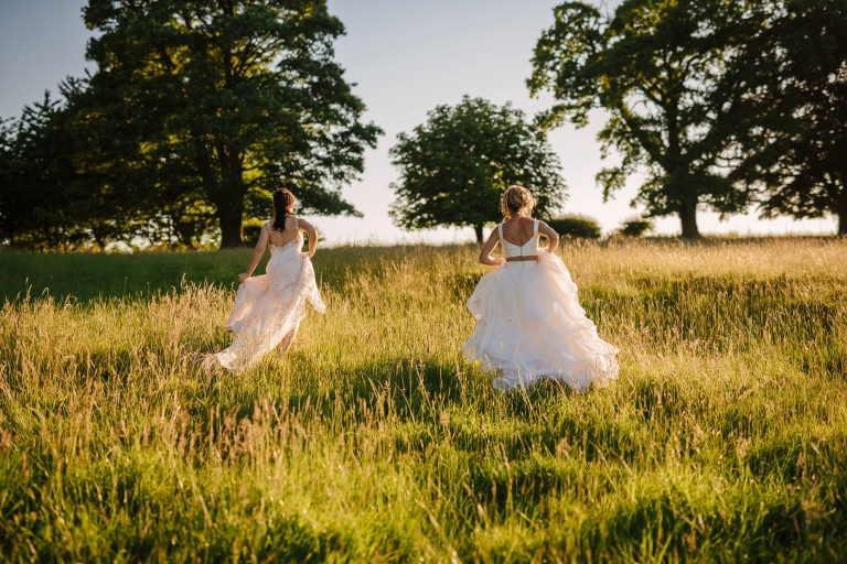JODY + ROXY // ALDBY PARK YORKSHIRE MARQUEE WEDDING